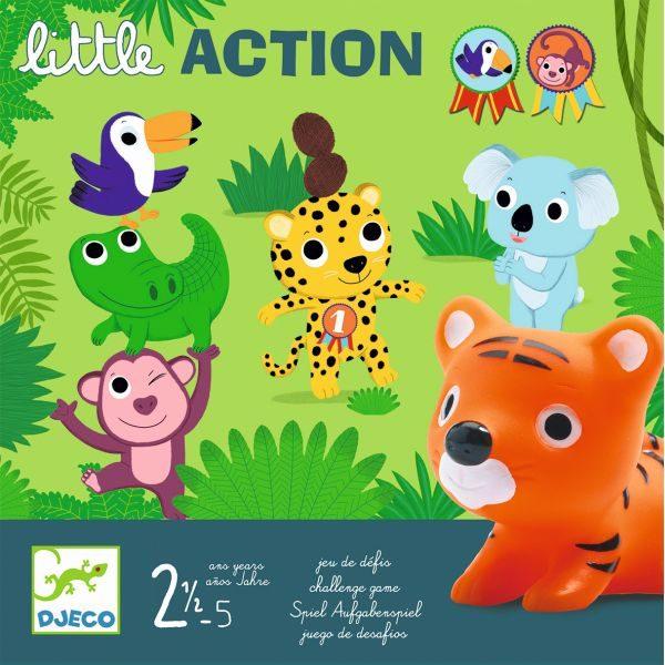Little Action - Joc d'acció - 3 a 5 anys, DJECO, Memòria i ...